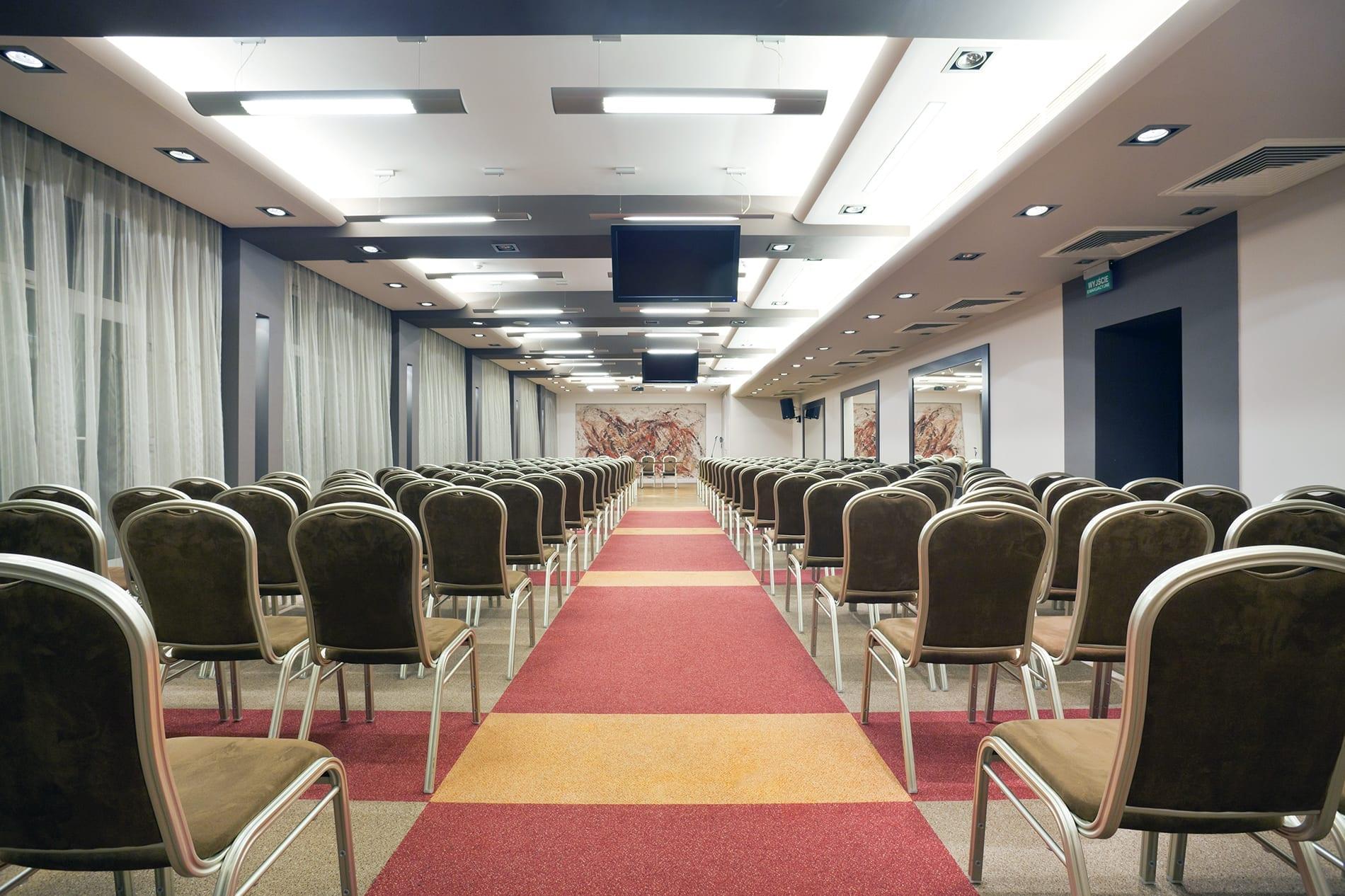 Sala konferencyjna w Hotelu Ikar w Poznaniu